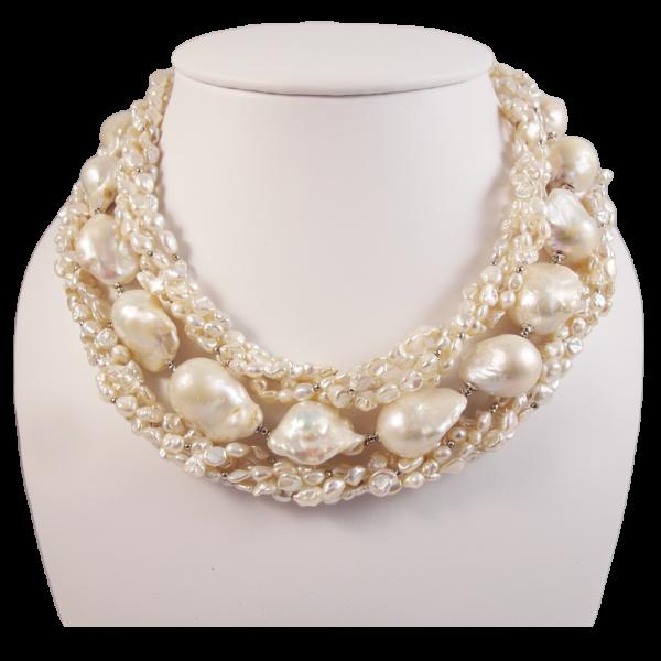 Perlencollier Italien